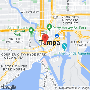 Map of Fifth Third Mortgage - Stuart Williams at 201 East Kennedy Blvd., Tampa, FL 33602