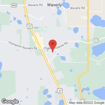 Map of Footaction Lake Wales at 725 Eagle Ridge Drive, Lake Wales, FL 33853