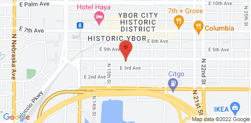 Directions to Nana's restaurant and juice bar