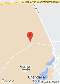 Google Map of Gajner Palace