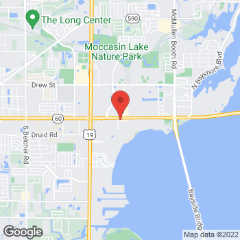 Map of Burger King at 2765 Gulf To Bay Blvd, Clearwater, FL 33759