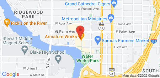 Directions to Dharma Fine Vittles: Tampa