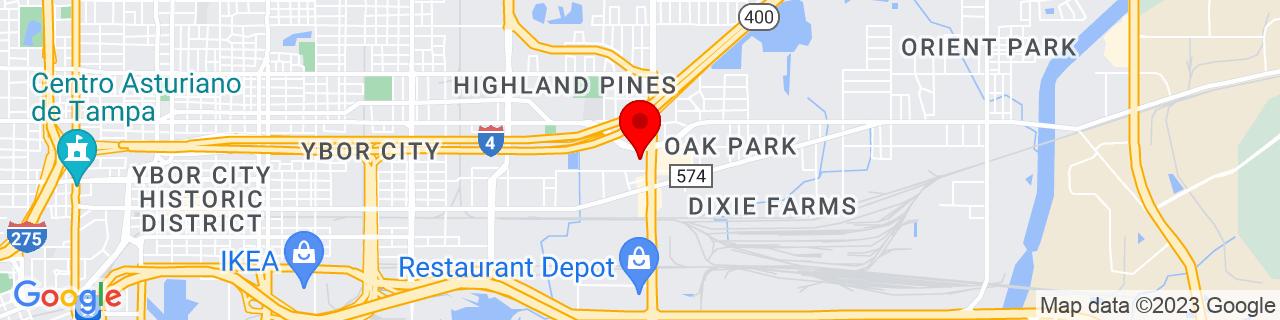 Google Map of 27.96391, -82.4028189