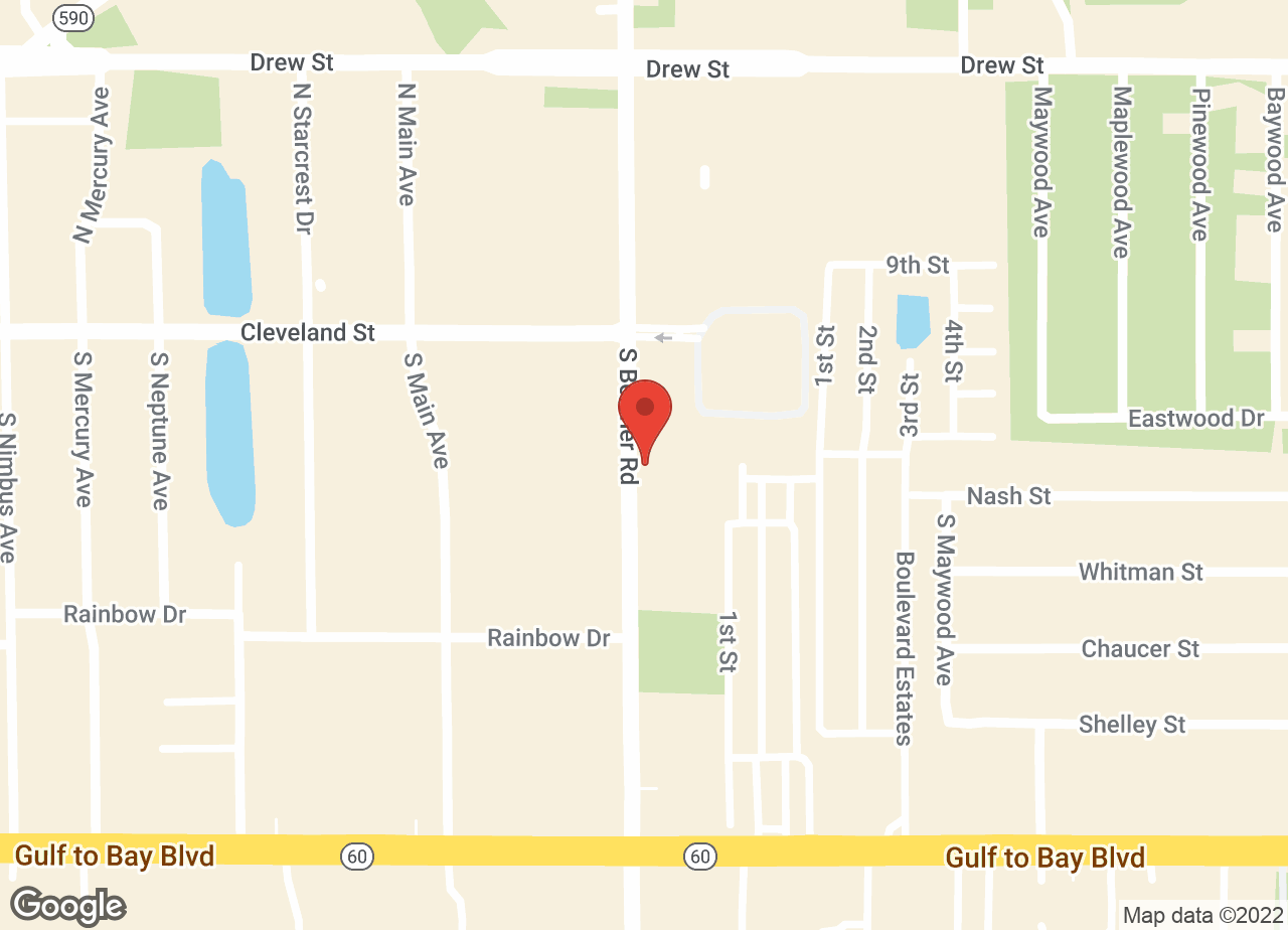 Google Map of VCA Gulf Bay Animal Hospital