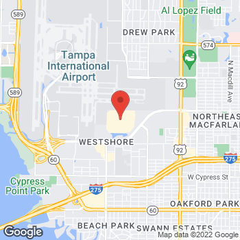 Map of Earl of Sandwich at 2223 N Westshore Blvd, FC-206  International Mall, Tampa, FL 33607
