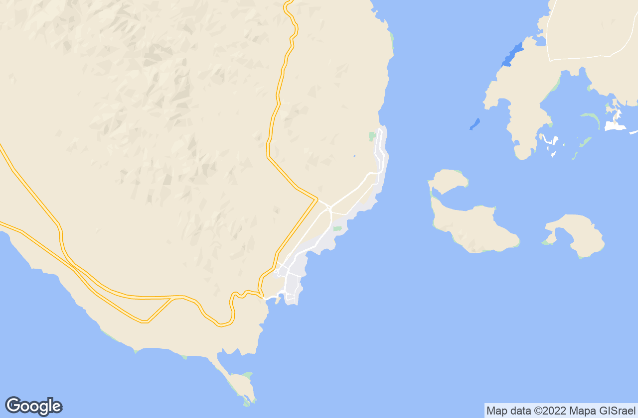 Google Map of شرم الشيخ