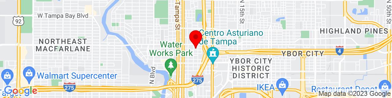Google Map of 27.9658, -82.4559