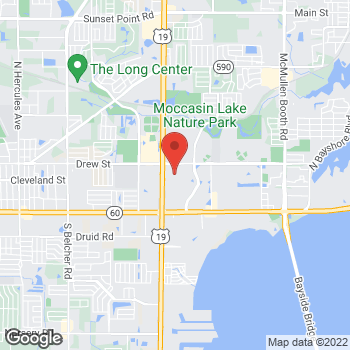 Map of Guitar Center Lessons at 21335 US Hwy 19 North, Clearwater, FL 33765