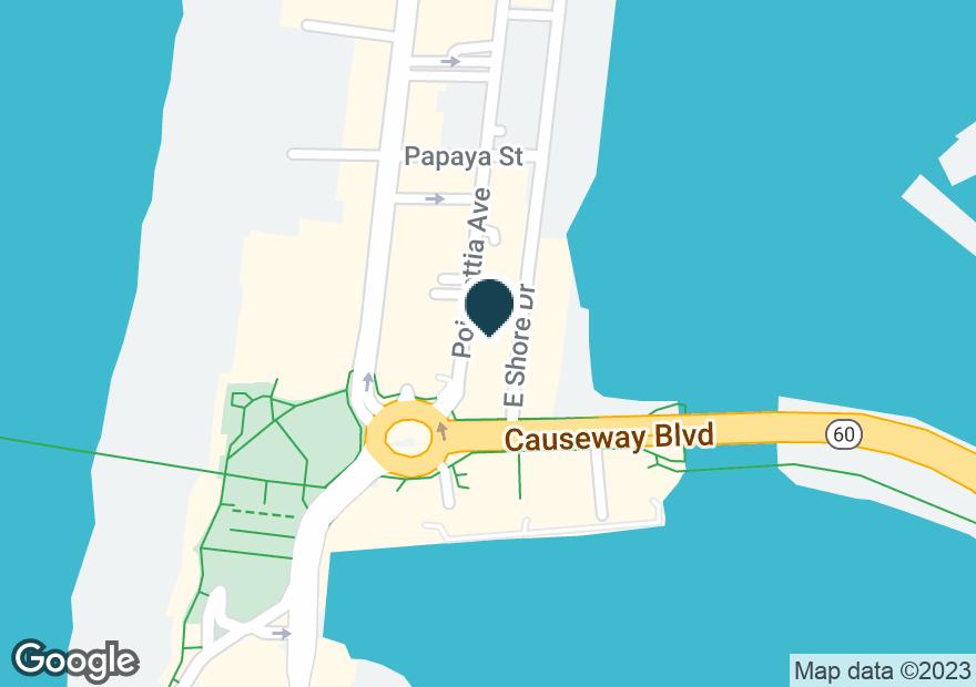Google Map of401 POINSETTIA AVE