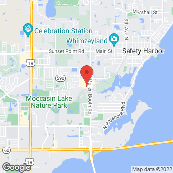 Map of Hair Cuttery at 1500 North Mcmullen Booth Rd, Clearwater, FL 33759