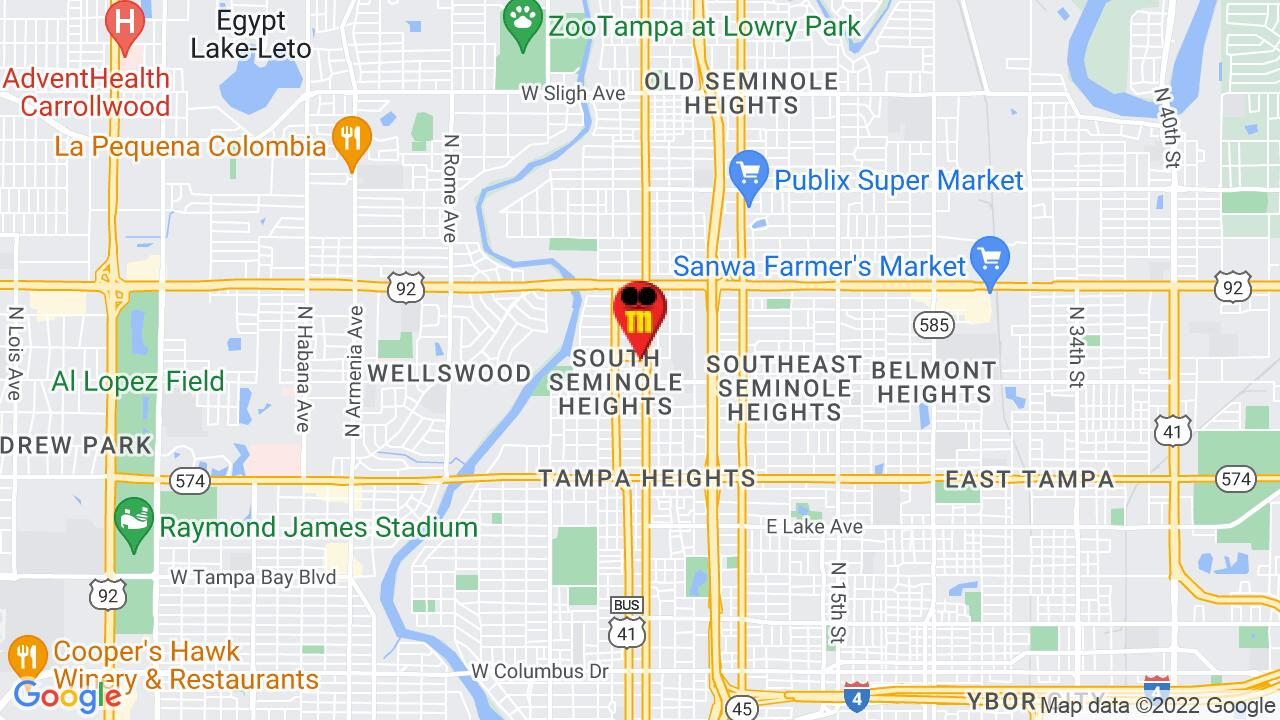 Google Map of Tampa Commercial Pest Control