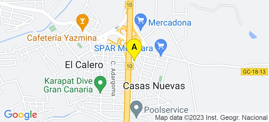 situacion en el mapa de . Direccion: Tomas Alba Edison 5 - Bajo, 35012 Las Palmas de Gran Canaria. Las Palmas