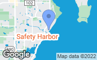 Map of Safety Harbor, FL