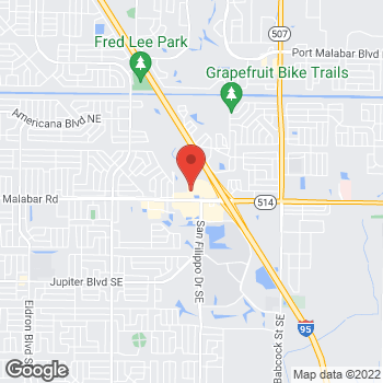 Map of Check `n Go Malabar Rd at 1153 Malabar Rd. NE, Palm Bay, FL 32907