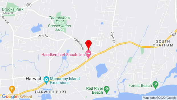 Google Map of 270 Chatham Rd, Harwich, MA 02645