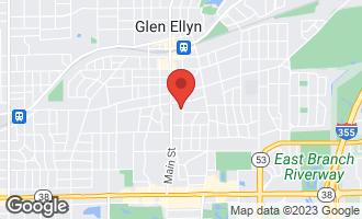Map of 270 Forest Avenue GLEN ELLYN, IL 60137