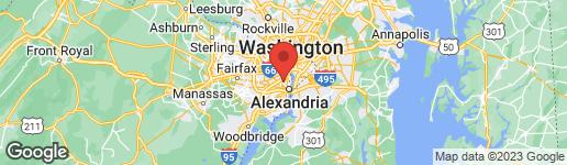 Map of 2704 CAMERON MILLS ROAD ALEXANDRIA, VA 22302