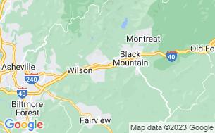 Map of Asheville East KOA