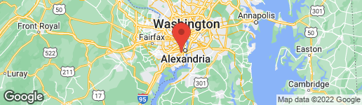 Map of 2709 JEFFERSON DRIVE ALEXANDRIA, VA 22303