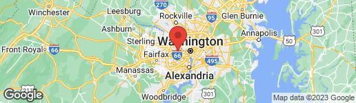 Map of 2711 GEORGE MASON DRIVE N ARLINGTON, VA 22207