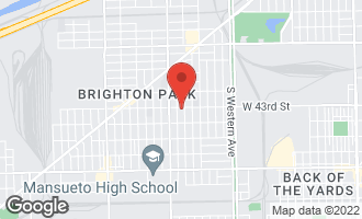 Map of 2711 West 43rd Street CHICAGO, IL 60632