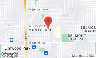 Map of 2714 North Normandy Avenue CHICAGO, IL 60707