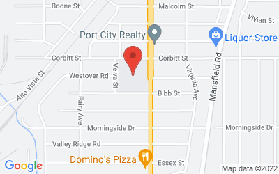 Map of 2715 Corbitt Street, Shreveport, LA 71108, USA