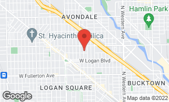 Map of 2715 North Richmond Street CHICAGO, IL 60647