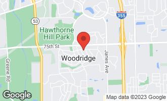 Map of 2719 Forest Glen Parkway WOODRIDGE, IL 60517