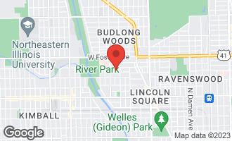 Map of 2720 West Winnemac Avenue #1 CHICAGO, IL 60625