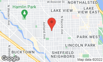 Map of 2725 North Janssen Avenue CHICAGO, IL 60614