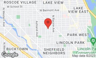 Map of 2725 North Wayne Avenue #2 CHICAGO, IL 60614
