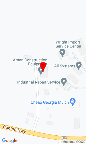 Google Map of Aman Construction Equipment 2728 Canton Hwy, Cummings, GA, 30040