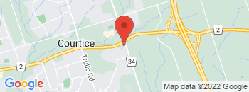 Google Map of 2728+Courtice+Road%2CCourtice%2COntario+L1E+2M7