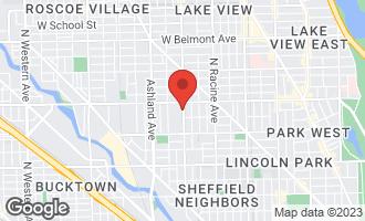 Map of 2729 North Janssen Avenue #2729 CHICAGO, IL 60614
