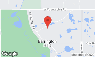 Map of 273 Donlea Road Barrington Hills, IL 60010