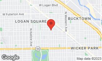 Map of 2730 West Armitage Avenue 2E CHICAGO, IL 60647