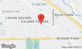 Map of 2730 West Armitage Avenue 2W CHICAGO, IL 60647