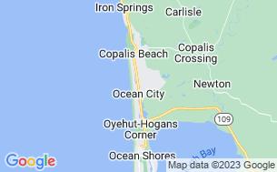 Map of Oceana RV & Camping Resort