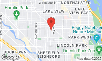 Map of 2734 North Magnolia Avenue CHICAGO, IL 60614