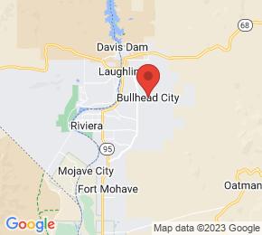 Job Map - 2735 Silver Creek Road Bullhead City, Arizona 86442 US