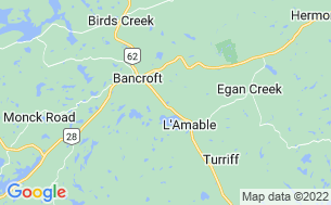 Map of Bancroft Tent & Trailer Camp