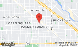 Map of 2737 West St Georges Court CHICAGO, IL 60647