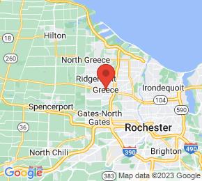 Job Map - 2745 WEST RIDGE ROAD Greece, New York 14626 US