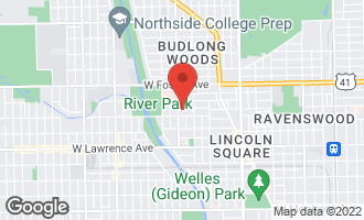 Map of 2745 West Winnemac Avenue CHICAGO, IL 60625