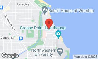 Map of 2746 Euclid Park Place EVANSTON, IL 60201