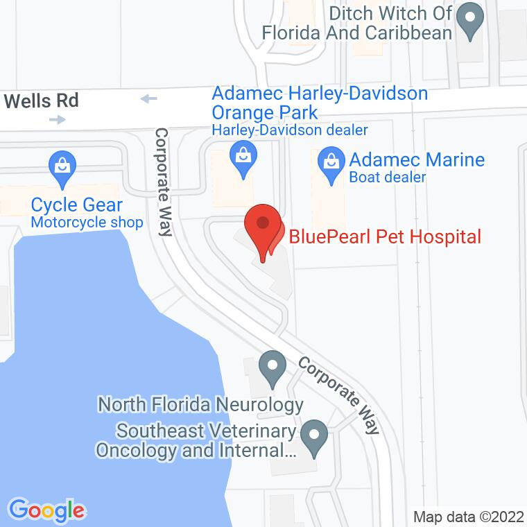 Google Map of 275 Corporate Way Suite 100, Orange Park, FL, 32073