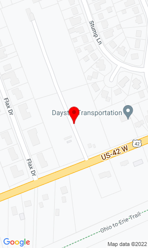 Google Map of CHE, Inc. 275 West High Street, London, OH, 43140