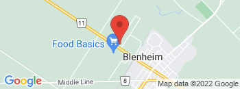 Google Map of 275+Chatham+Street+North%2CBlenheim%2COntario+N0P+1A0