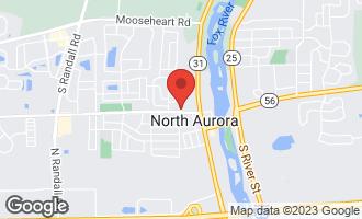 Map of 275 Oak Street NORTH AURORA, IL 60542